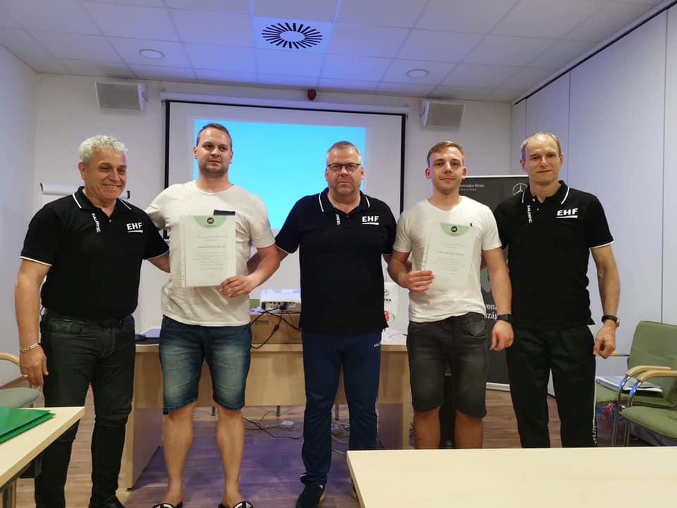 Edvinas ir Justas patapo EHF teisejai